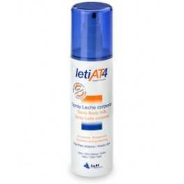 Leti AT4 spray leche corporal 200 ml