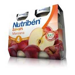 Nutribén Zumo manzana 2 x 130 ml