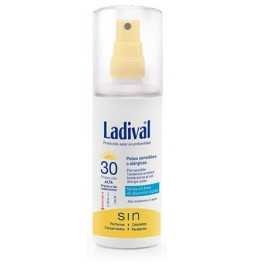 Ladival Corporal Piel Sensible o Alérgica Fotoprotector Spray Gel Crema Fps 30 Alta 150 Ml