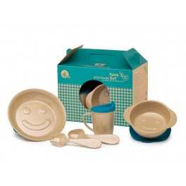 Vajilla infantil Eco-Friendly fibra de arroz The Dida World