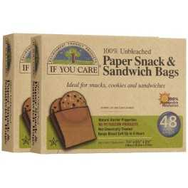Bolsas de papel para Sandwich IF YOU CARE (48 uds)