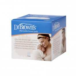 Discos Absorbentes Desechables Dr Brown's 60 uds