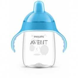 Taza magic antigoteo azul 340ml (+18M) Avent