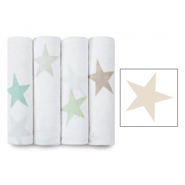 Arrullo Muselina Classic Super Star Scout aden+anais (1 ud) - fawn-star
