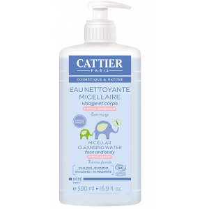 agua micelar bebe cattier 500 ml