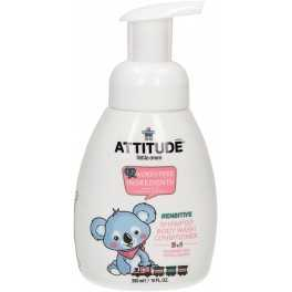 Champú, gel y acondicionador para bebé -3 en 1- 300 ml eco Sensitive Attitude