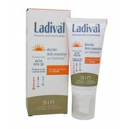 Ladival Emulsión Acción Anti-Manchas Con Deléntigo Fps30 Crema con color 50 Ml