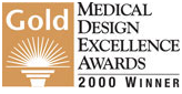 Ganador de Oro 2000- Medical Design Excellence Awards