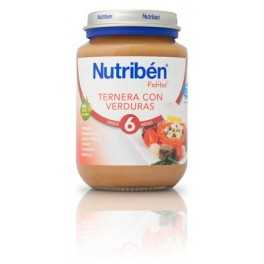 Nutribén junior ternera con verduras (6M+) 200 gramos