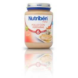 Nutribén Junior Pollo con Verduras 200 gr (6M+)