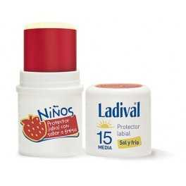 Ladival Protector Labial Niños Fps 15 Stick 4 ml