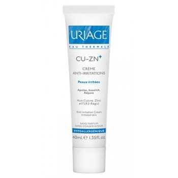 Uriage crema anti-irritaciones cu-zn+ 40 ml
