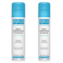 URIAGE Agua Termal Spray Duplo 2x300 ml