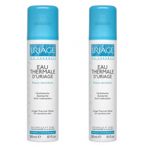 duplo agua termal uriage 2x300 ml