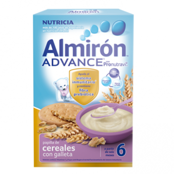 Almiron cereales con galletas advance 500 gr
