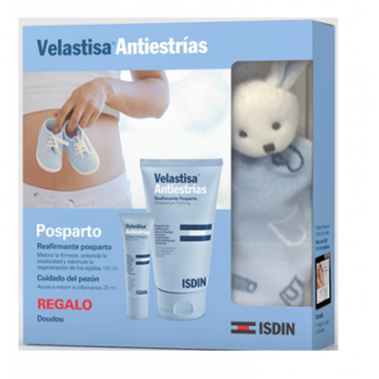 Pack velastisa reafirmante post-parto (150 ml) + cuidado del pezón