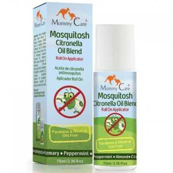 Roll on antimosquitos de aceite de citronella mommy care 70 ml (a