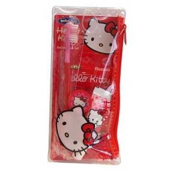 Neceser dental de viaje hello kitty