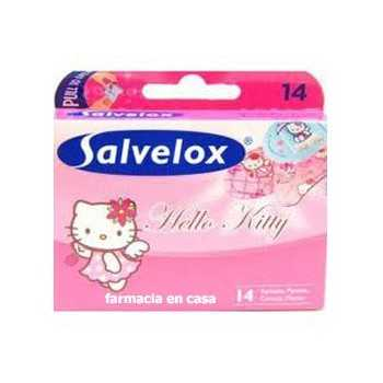 Tiritas hello kitty salvelox (14 uds)
