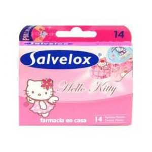 tiritas hello kitty salvelox 14 unds