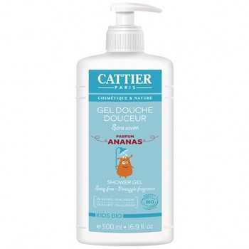 Gel de ducha suave para niños 500 ml cattier
