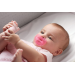 chupete physiosoft silicona chicco rosa 0m+
