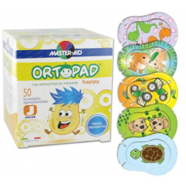 Ortopad Happy Motivos grandes Junior 20 uds (Talla S)