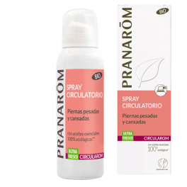 Spray Circulatorio Circularom Piernas Pesadas y Cansadas 100ml Pranarom