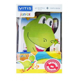 VITIS Junior Pack Cepillo + Gel + Regalo (A partir de los 3 años)