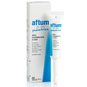 aftum gel oral pediátrico 15 ml