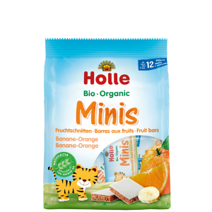 barritas galletas mini naranja y plátano +12 meses holle