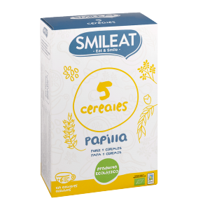 papilla ecológica 5 cereales smileat
