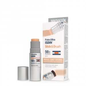 fotoprotector isdin stick and brush 50+ 7 gr