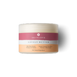 SKINLOVE LOVELY BUTTER Crema corporal Ultra Rica Naranja y Albaricoque 175 ml