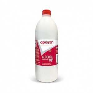 alcohol 70º aposan 250 ml
