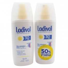Pack Ahorro Ladival Piel sensible Duplo Spray FPS30 (150+150 ml)