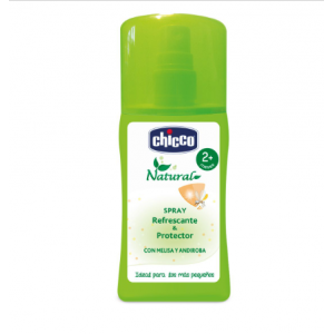 sapray antimosquitos chicco natural 100 ml
