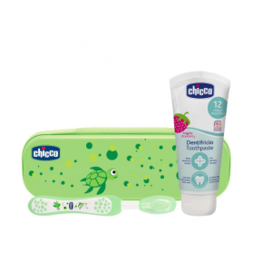 set dental verde chicco +12 meses