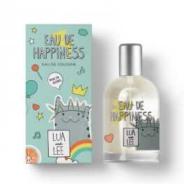 Eau de Cologne HAPINESS Lua & Lee frasco cristal 100ml