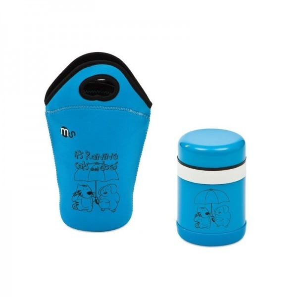 Termo 750 ml + Bolsa Neopreno Ms
