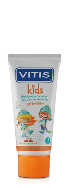 Gel dentífrico Vitis Kids 50 ml +2 años