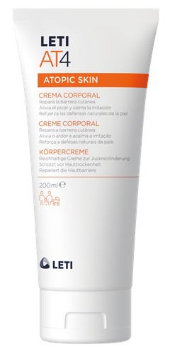Leti AT4 crema corporal emoliente 200 ml
