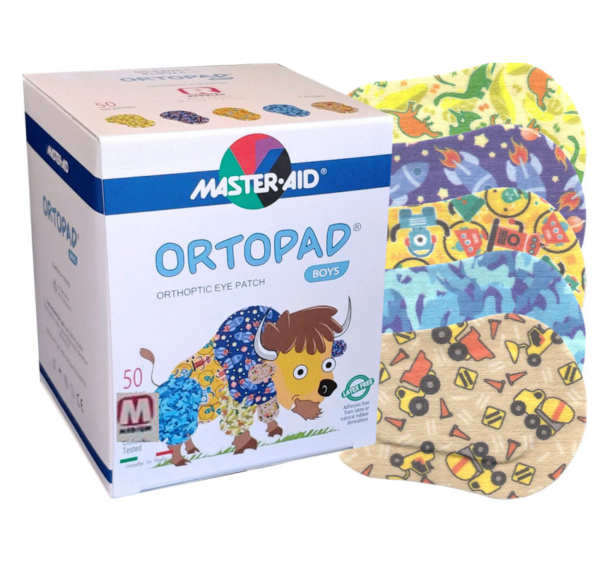 Ortopad Boys Medium 50 uds (Niño talla M) (70179)