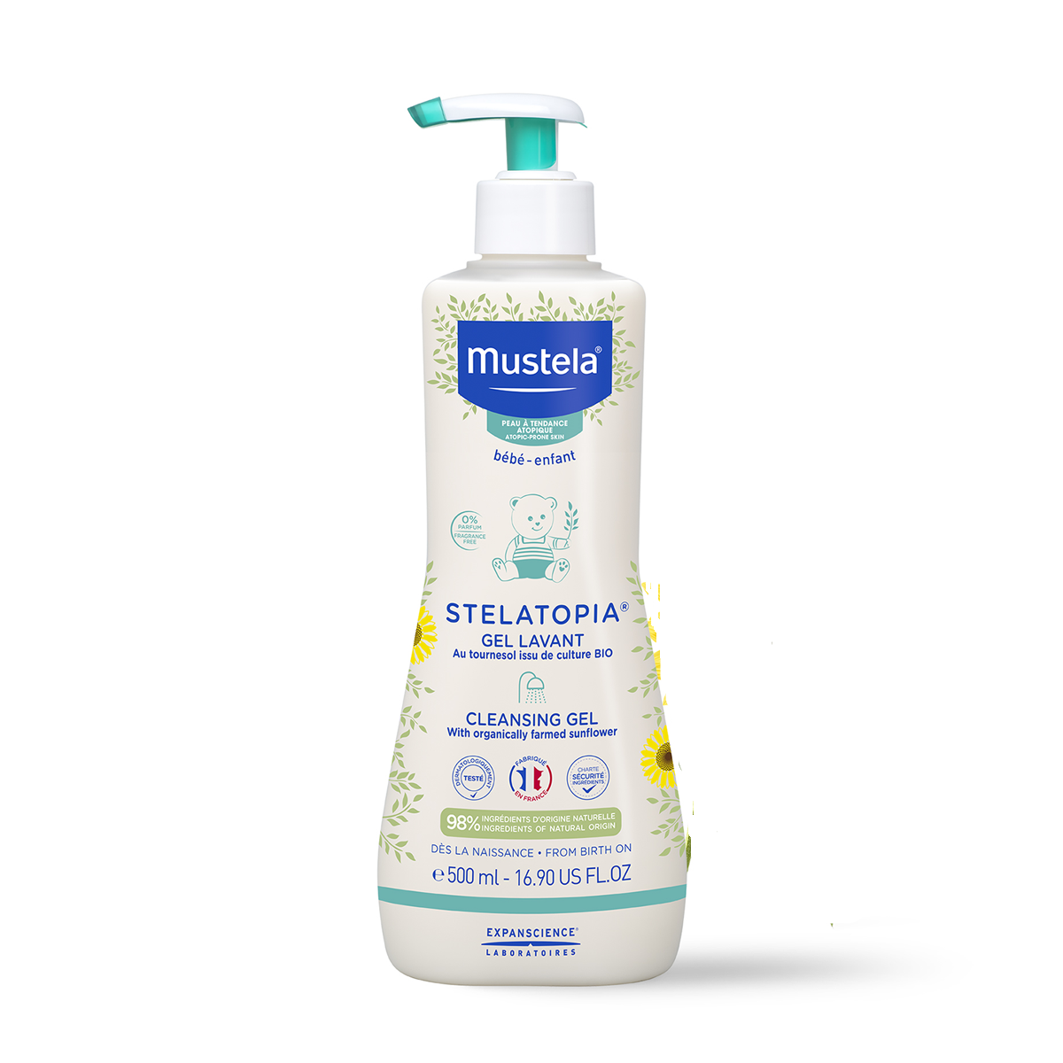Gel de baño Stelatopia MUSTELA 500 ml