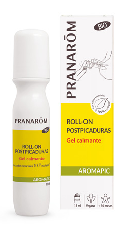 AROMAPIC Gel calmante picaduras roll-on PRANAROM 15 ml (A partir de 2.5 años)